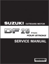 Buy Suzuki DF25 V-Twin Four Stroke Outboard Motor Service Repair Manual CD . DF 25