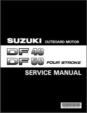 Buy Suzuki DF40 DF50 Four Stroke Outboard Motor Service Repair Manual CD .. DF 40 50