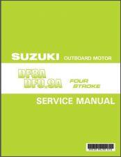 Buy 10-14 Suzuki DF8A DF9.9A Outboard Motor Service Repair Manual CD .. DF 9.9 8 A