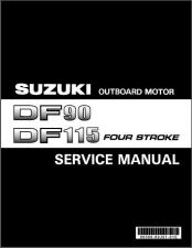 Buy Suzuki DF90 DF115 DF140 Outboard Motor Service Repair Manual CD - DF 90 115 140
