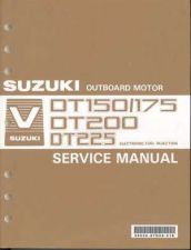 Buy Suzuki DT150 DT175 DT200 DT225 Outboard Motor Service Repair Manual CD