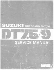 Buy Suzuki DT7.5 DT9 2-Stroke Outboard Motor Service Repair Manual CD - DT 7.5 9
