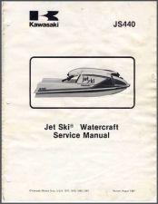 Buy 77-81 Kawasaki JS440 Jet Ski Service Repair Manual CD - JetSki JS 440