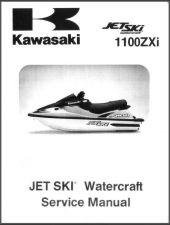 Buy 96-02 Kawasaki 1100ZXi Jet Ski Service Repair Manual CD - JetSki 1100 ZXi