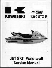 Buy Kawasaki 1200 STX-R Jet Ski Service Repair Manual CD - JetSki 1200STXR 1200STX