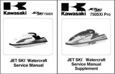 Buy Kawasaki 750SXi Pro Jet Ski Service Repair Manual CD - JetSki 750 SXi