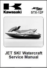 Buy Kawasaki STX-12F Jet Ski Service Repair Manual CD - JetSki STX12F