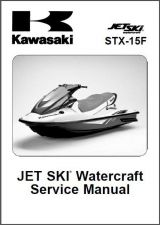 Buy Kawasaki STX-15F Jet Ski Service Repair Manual CD - JetSki STX15F