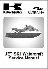 Buy Kawasaki Ultra 150 Jet Ski Service Repair Manual CD - JetSki Ultra150
