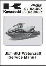 Buy Kawasaki Ultra 300X 300LX Jet Ski Service Repair Manual CD JetSki Ultra300 X LX