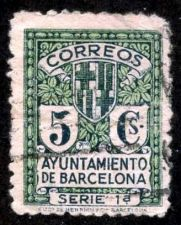 Buy Spain 1929, Barcelona, Used