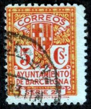 Buy Spain 1933, Michel # 5b Barcelona, Used