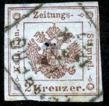 Buy Austria-Zeitungsmarke 1877, ANK 2015, # 6, Type Ia, Used