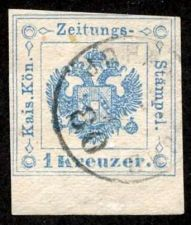 Buy Austria-Zeitungsmarke 1877, ANK 2015, # 5 with Margin, Used