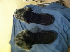 Buy Black boots by hot kiss brand women size 8.5