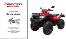 Buy CF Moto CF500 / CF500A Moose Tracker Service Repair Manual CD - CFMoto CF 500 A