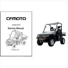 Buy CFMoto CF500-3 Rancher UTV Service Repair Manual CD .. CF Moto CF 500 3