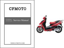 Buy CFMoto Glory CF125T-22A / CF150T-6A Service Repair Manual CD - CF Moto 125 150