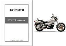 Buy CFMoto V5 Sport Cruiser / CF250T-5 Service Repair Manual CD -- CF Moto CF250 T5