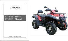 Buy CFMoto X6 EFI CF625-B / CF625-C ATV Service Repair Manual CD .. CF Moto CF 625