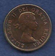 Buy Canada 1 Cent 1962 RED Canadian Canada Maple Leaf Elizabeth II Penny