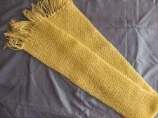 Buy Yellow knitted Scarf