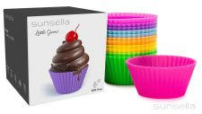 Buy Sunsella Little Gems - Silicone Baking Cups - 12 Pack