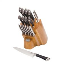Buy Chicago Cutlery 1119644 Fusion Forged 18-Piece Knife Block Set - FREE SHIPPING