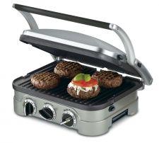 Buy Cuisinart GR-4N 5-in-1 Griddler, Silver - FREE SHIPPING