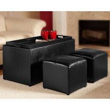 Buy Convenience Concepts 143012 Sheridan Faux Leather Storage Bench - FREE SHIPPING