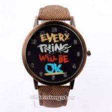 Buy Fashion Leather Band Quartz Watch #525 Free shipping