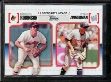 Buy 2010 Topps Legendary Lineage Insert #LL56 Brooks Robinson/Ryan Zimmerman