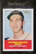 Buy 2007 Topps Heritage Flashbacks Insert #FB2 Brooks Robinson