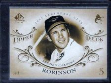 Buy 2005 SP Legendary Cuts #9 Brooks Robinson