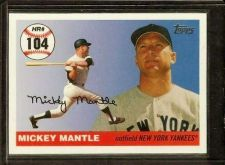 Buy 2006 Topps Mantle Home Run History Insert #104 Mickey Mantle