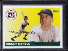 Buy 2006 Topps Mantle Home Run History Insert #276 Mickey Mantle