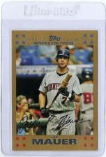 Buy Joe Mauer 2007 Topps Gold #325 (0815/2007)