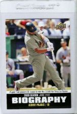 Buy 2010 Upper Deck Season Biography Insert #SB93 Albert Pujols