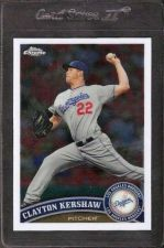 Buy 2011 Topps Chrome Refractors #107 Clayton Kershaw