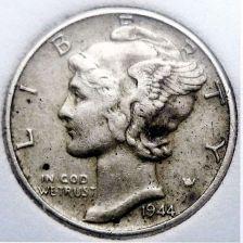 Buy 1944 VF Mercury Dime