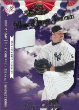 Buy Roger Clemens 2001 Absolute Memorabilia # OD-31 Game Used Base (068/400)