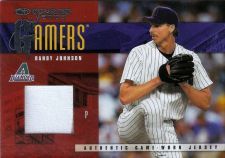 Buy Randy Johnson 2003 Donruss Gamers Jersey Card G-7 (169/500)