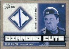Buy 2003 Flair Diamond Cuts Jersey MP Mike Piazza Jsy
