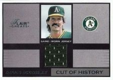 Buy 2003 Flair Greats of the Game Dennis Eckersley Game Used Jersey
