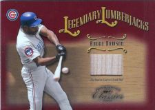 Buy 2002 Donruss Legendary Lumberjacks #11 Andre Dawson Bat 114/500