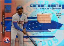 Buy 2003 Donruss Elite Career Bests Materials # CB-17 Vladimir Guerrero Bat (23/500)