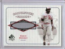 Buy 2001 SP Authentic Cooperstown Calling Game Jersey #CCEM Eddie Murray