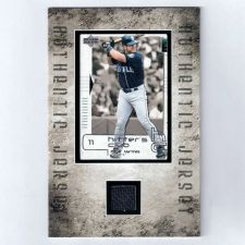 "Buy Edgar Martinez Jumbo 6"" X 4"" GU Jersey Card"