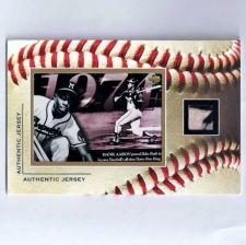 """Buy Hank Aaron Jumbo 6"""" X 4"""" GU Jersey Card"""