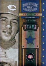 Buy 2004 Throwback Threads Century Stars Spectrum #25 Johnny Bench (045/100)